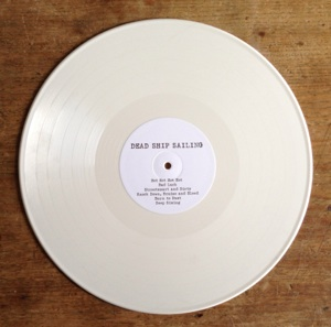 dead ship sailing white vinyl record